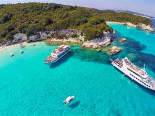 Paxos and Antipaxos cruise from Corfu