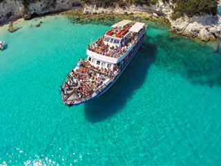 Most popular cruise to Paxos and Antipaxos