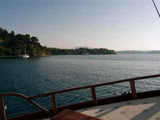 Corfu private cruise with Kaiki boat