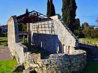 Shore excursion private Archaeological tour in Corfu