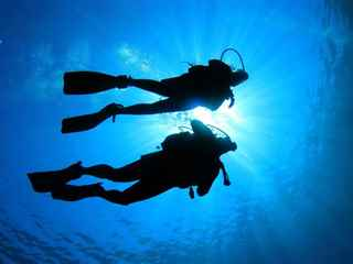 Scuba diving with transfer from the Corfu port