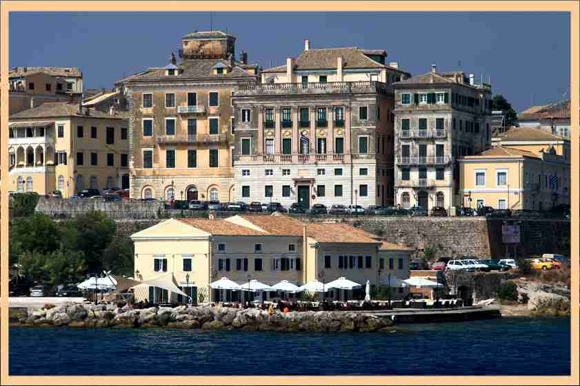 Corfu excursion to Achilleion Palace and Corfu Old Town|Half Day
